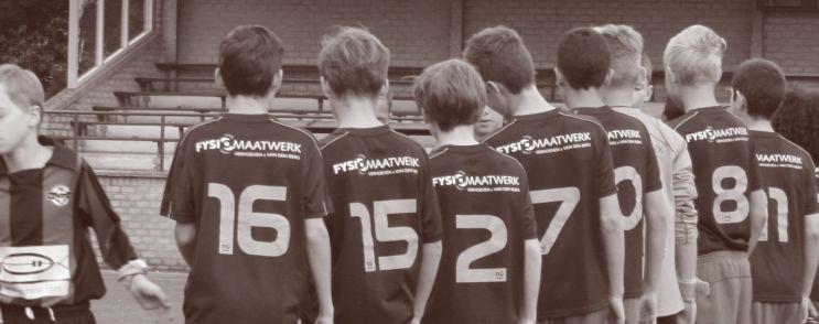 Blauw Geel'38 - FysioMaatwerk sponsor jeugdselectie